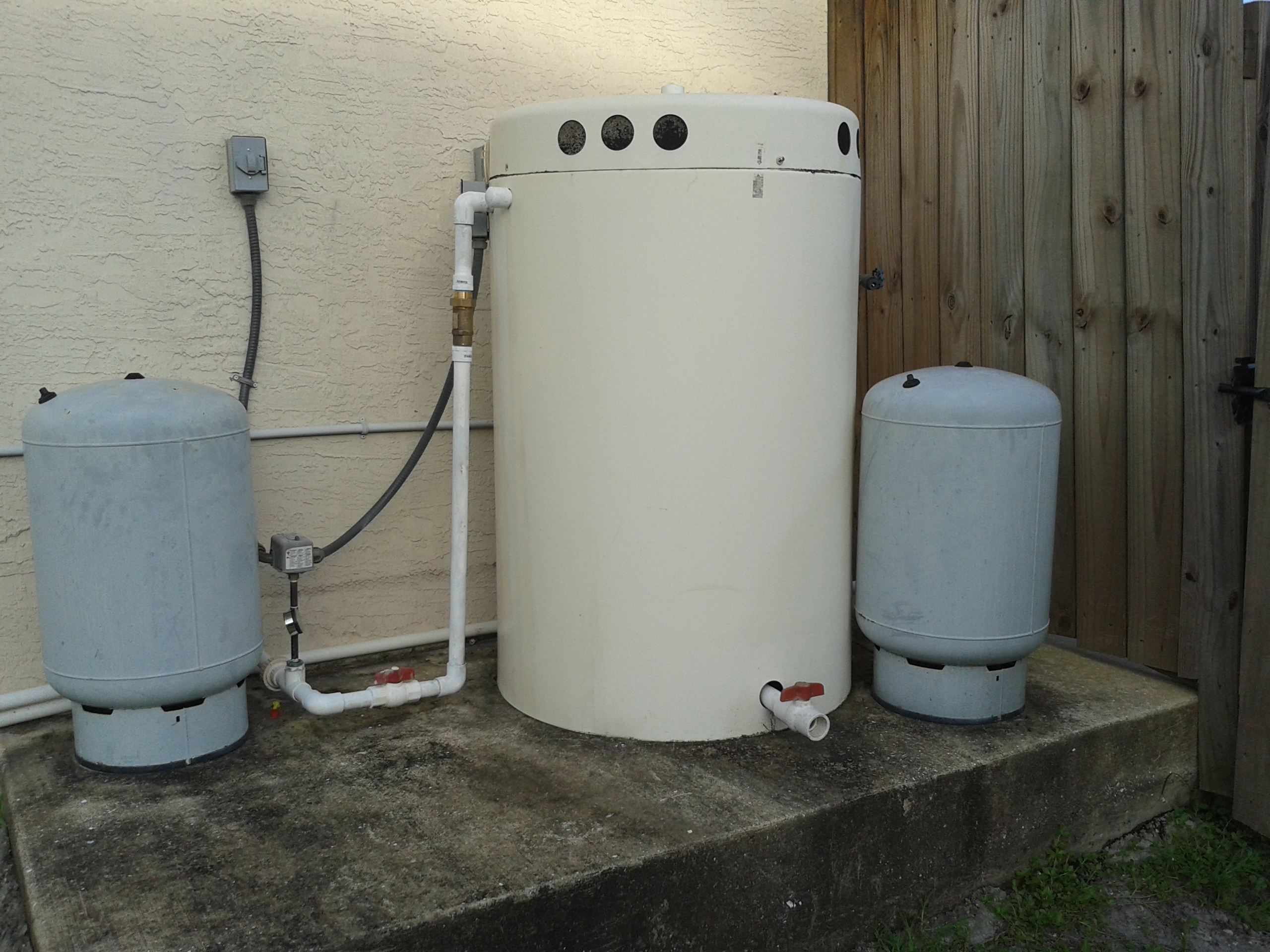 Aerator Tanks Water Medic Of Cape Coral Florida